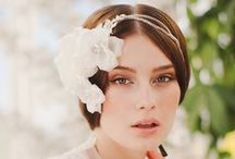 *Bridal Headpiece and Wedding Hair Accessory Ideas / Ultra feminine and fab Bridal Headpiece and Wedding Hair Accessories Ideas