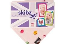 Skibz the Original Dribble Bibs / Skibz are the pioneers and the first to market, baby bandana dribble bib. With an array of designs to suit any taste. Made with extremely absorbent fabric to the highest of standards, Skibz will keep baby dribble free all day and look FAB!  www.skibz.co.uk