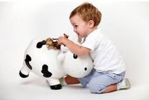 KidZZfarm Inflatable Animal Hoppers. / Inflatable animal hoppers for hours of bouncy fun.  Indoor and outdoor play and aged from 12 months. Available through Skibz Ltd, the original baby bandana dribble bib.