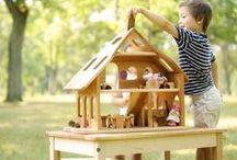 Dollhouses / Eco-friendly dollhouse inspiration.