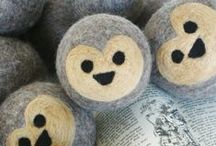 Wool & felt / Some of the coolest crafty supplies for kids goods.