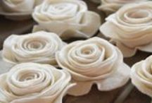 CRAFTS-  fabric flowers