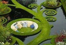 GARDEN~  water features / by Tammie Jackett