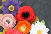 CRAFTS-  paper flowers  / by Tammie Jackett