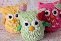 CROCHET-  owls / by Tammie Jackett