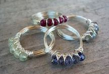 CRAFTS-  wire wrapping / by Tammie Jackett