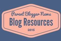 Blog Resources / Hints, tips and resources for bloggers. Everything from starting a blog, growing your audience, blog design or monitising.