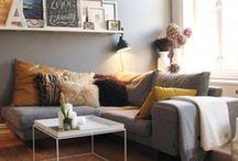 Dream living spaces / Simple, low-key living spaces.