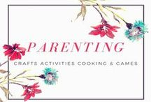 Parenting - Crafts, Activities, Cooking and Games / A collection of kids activities and crafts, fun or educational, in fact hopefully both. Lots of things to make and do with toddlers, preschooler and older children. If you'd like to contribute to this board please make sure you are following and then leave me a comment under the 'Join Here' pin