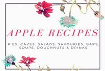 Apple Recipes / All the Apple Recipes you could ever need / by Cat @ Yellow Days Blog