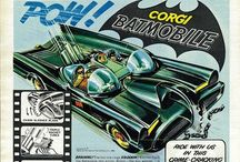 Vintage Toy Advertisments / Original toy adverts. I just love the hand drawn illustrations and artwork.