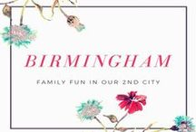 Birmingham for Families / Birmingham has so much for families. This board is a collection of links to attractions and links to reviews. / by Cat @ Yellow Days Blog