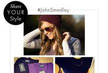#JohnSmedley / Inspiration and style from our #JohnSmedley lovers...