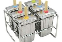Ice pop molds / Eco-friendly and safe molds for homemade popsicles.