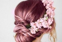 Wedding style / Hair and cosmetics for an eco-wedding