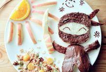 Food fun for kids / Healthy, cute food for kiddos