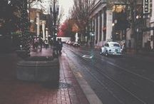 Life in Portland / I love living in PDX - mostly because of all the rain!