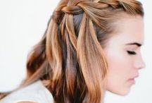 Hair styles I adore / Nice hair styles for long and curly hair