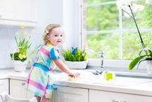 Clean green / Eco-friendly, organic and homemade cleaning ideas.