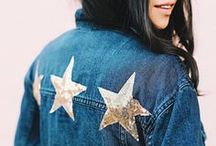DENIM DENIM DENIM / Channel your own inner jean queen with inspirational pics of celebrities + some of our own Riffraff girls rockin' denim looks we love