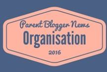 Organisation for Bloggers / Tips, templates and printables to organise life, blog and home