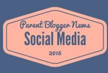 Social Media for Bloggers / Tips for making social media work for your blog - twitter, pinterest, facebook, google+, stumble upon and more