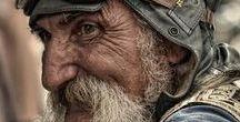 Rostros con historia / Fotos rostros personas de larga vida