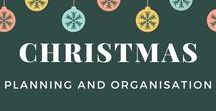 Christmas Planning and Organisation / A collection of advice, tools and printables to make it easy to plan Christmas and the whole holiday season.