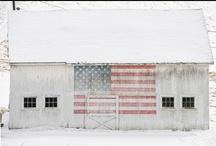 Barns / by Linda @ Seaside Style