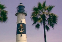 Lighthouses / by Linda @ Seaside Style