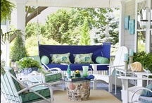 Porches / by Linda @ Seaside Style