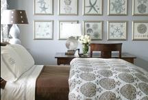 Bedrooms / by Linda @ Seaside Style