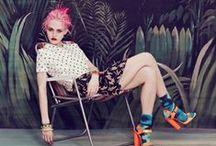 EcoDivas: Hot chics, PINK hair, vintage style
