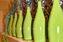 50 Ways to reuse BOTTLES & JARS! / Glass is better than plastic when packaging pretty much anything.  And every used glass container can and should have a second life...so here are some super sassy and simple DIY tips and tricks!