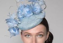 Blue needn't make you Blue / How to wear the colour blue, in tones from palest baby blue, serenity blue, and cornflower, through Royal Sapphire and cobalt to darkest navy. Outfit Ideas. Outfit inspiration. Ladies Fashion, Formal wear, millinery, hats, fascinators, headpieces, shoes, bags and dresses