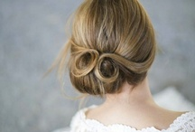 Pin-Curl Twist Wedding Hairstyle