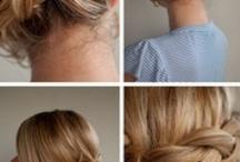 French Braid Bun Wedding Hairstyle