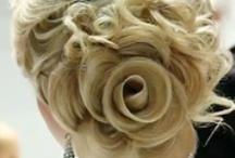 Rose Bun Wedding Hairstyle