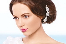Corrective Wedding Makeup and Hairstyle