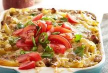 Casseroles / Comfort Food~ Quick and Easy Casseroles~