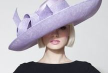 Purple Outfits / From lilac and lavender, through regal tones, pantones color of the year Ultra Violet, to dark aubergine. Fashion outfits, ideas and inspiration, with dresses, shoes, bags and millinery hats, headpieces and hats.