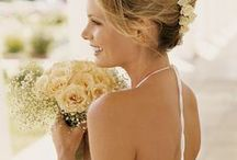 Relaxed Updo Wedding Hairstyle