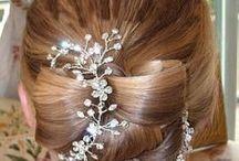 Garden Goddess Wedding Hairstyle