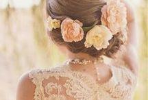 Wedding Hairstyle Flower Tips