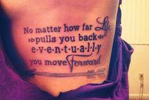 Tattoos & piercings  / by Heather Arthur