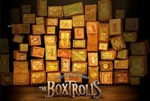 The Boxtrolls / Eggs is an orphaned boy who was raised by trolls who wear boxes for clothing. They take their names from the pictures on the boxes and fight an evil exterminator who want them eradicated!