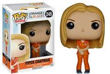 Orange Is the New Black / Piper Chapman is a woman in her thirties who convicted of a crime involving drug money that happened 10 years ago despite the fact that she now lives her life as an upstanding citizen.
