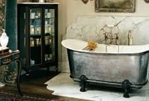 Bath time! / Beautiful bathrooms that inspire to design for my own home and others.