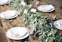 Lovely Tablescapes / Tabletop settings for your every whim.