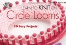 All Things Loom Knitting / I'm just starting out in loom knitting but found these many videos and patterns that I would like to share / by Bobbie Asche